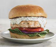 Salmon Burgers with