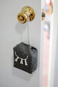 door stopper hanging