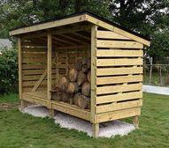 Firewood Storage She