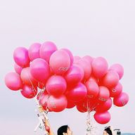 Balloons = happiness