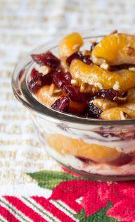 Mandarin and Cranber