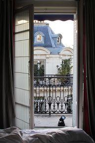 Paris balcony...