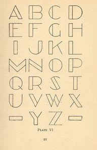 deco letters