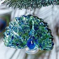 Peacock Ornament by