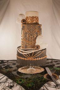 Art Deco Cake www.ta