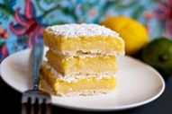 Summer citrus bars w