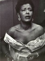 Billie Holiday backs