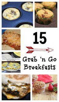 15 Grab n Go Breakfa