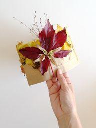 DIY Autumn Leaf Crow