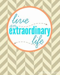 Want to live an extr