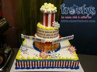 Carnival themed cake