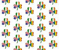 Gay Pride Shamrock f