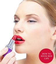 How to Rock Red Lips