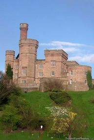 Iverness Castle in S