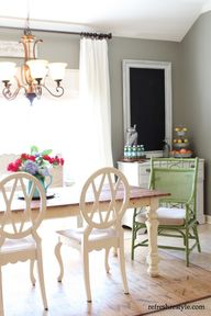 DIY Painted Chair gr