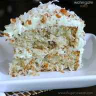 Watergate cake...