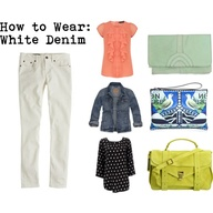 How to Wear White De