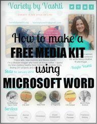 Design Your Media Ki