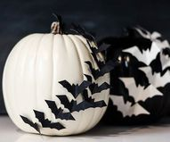 Batty Pumpkin Silhou