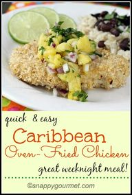 Caribbean Oven-Fried