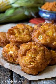 Pumpkin Corn Fritter