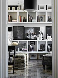 styling a bookcase,