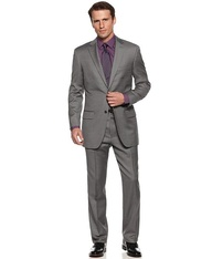 Gray suit --- power