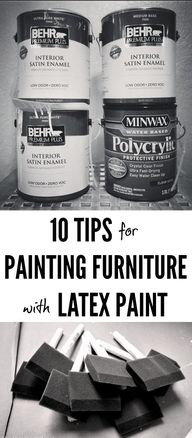 10 Tips for Painting