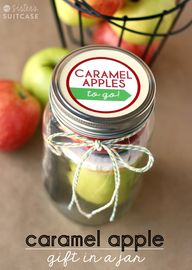 Caramel Apples To Go