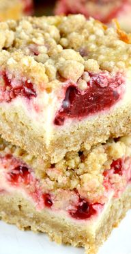 Strawberry Cream Bar