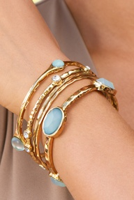 Perfectly pastel bangles