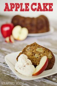Apple Bundt Cake - K
