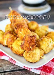 Deep Fried Mashed Po