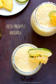 Fresh Pineapple Marg