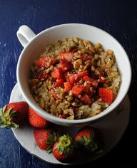Quinoa with Strawber
