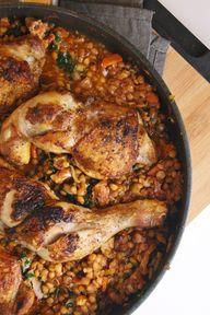 chicken + red lentil