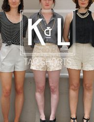 Tap Shorts by Katy &