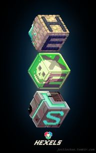 Hexels art made with