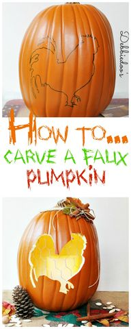 How to carve a #faux