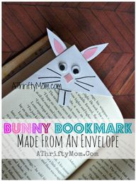 bunny bookmark made