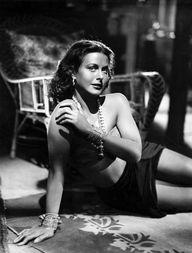 """Hedy Lamarr in """"Whit"""