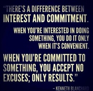 ❥ commitment