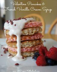 Valentine Pancakes a