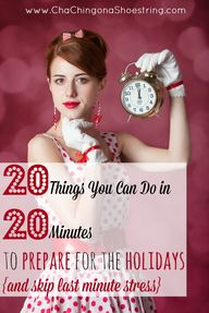 20 Things You Can Do