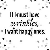 Wrinkles.