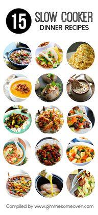 15 Slow Cooker Dinne