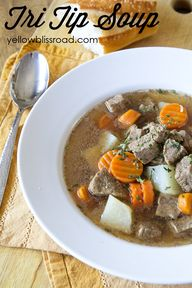 Smoky Tri Tip Soup,