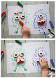 Make a Monster Biscu
