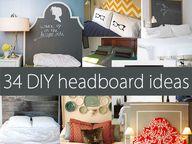 34 #DIY #headboard i
