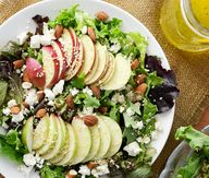 Apple Feta Salad wit